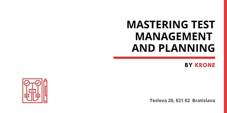 Mastering Test Management and Planning tickets
