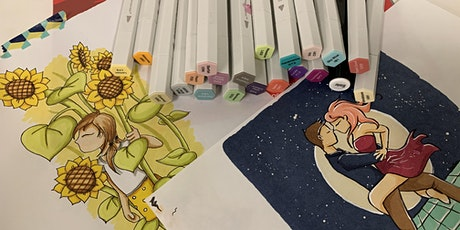 Illustration course: learn how to illustrate with markers tickets