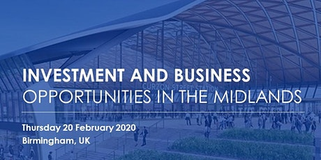 Investment and Business Opportunities in the Midlands tickets