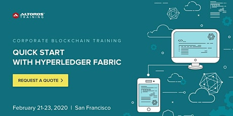 Corporate Blockchain Training: Quick Start with Hyperledger Fabric [San Francisco] tickets