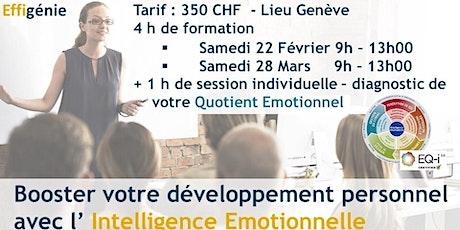 Développement personnel : intelligence Emotionnelle – Formation 4h + QE 1h billets