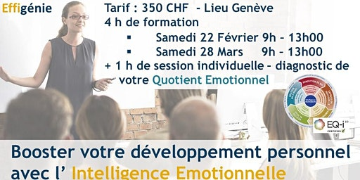 Développement personnel : intelligence Emotionnelle – Formation 4h + QE 1h