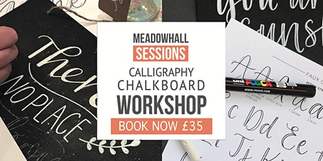 Calligraphy Chalkboard Workshop at Meadowhall tickets