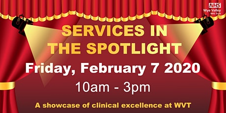 Celebrating Services in the Spotlight 2020 tickets
