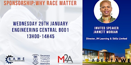 Sponsorship:  why race matters - BAME Students in Engineering Network talk tickets