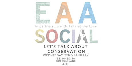 EAA Social: Let's talk about Conservation tickets