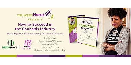 DMV - Sharing Success in Cannabis Book Tour tickets