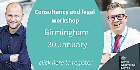 CCS  Customer Consultancy and Legal frameworks workshop - Birmingham tickets