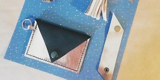Taster Leather Tassel Keyring and Card Holder Workshop