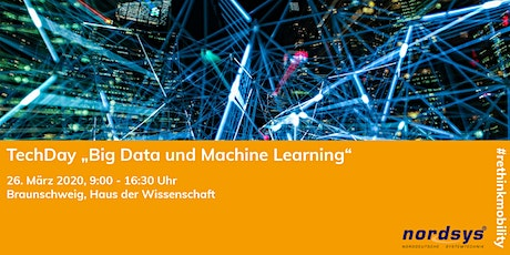 TechDay: Big Data und Machine Learning: Ungenutztes Potential? Tickets