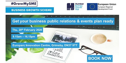 Get Your Business Public Relations & Events Plan Ready