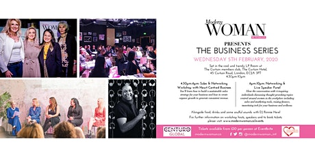 The Business Series with Modern Woman tickets