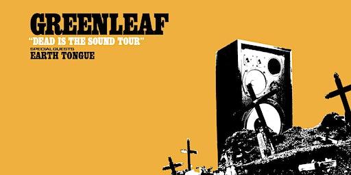 Greenleaf + Earth Tongue live p.m.k Innsbruck