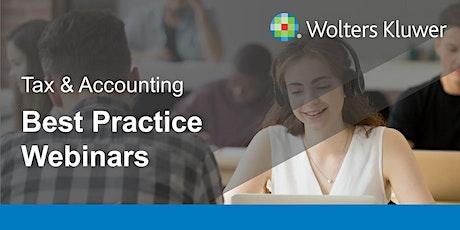 Webinar: CCH Accounts Production - Best practice tickets