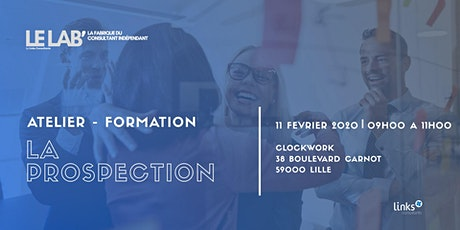 Atelier Formation #Lille | La Prospection | Le LAB' tickets