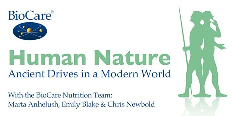 'Human Nature- Ancient Drives in a Modern World'- Cork Practitioner event tickets