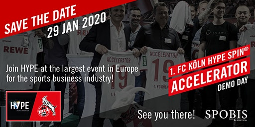 1.FC Köln HYPE SPIN® Accelerator Demo Day
