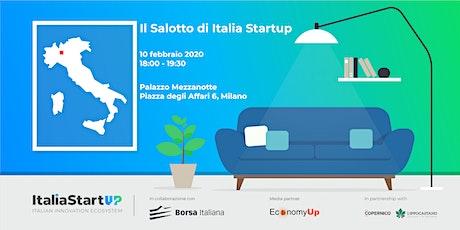 Il Salotto di Italia Startup in Borsa Italiana biglietti