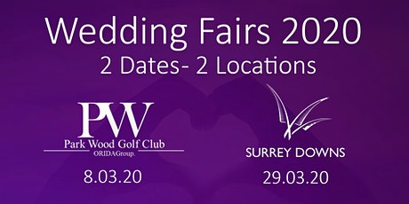 Wedding Fairs 2020 tickets