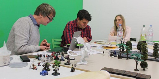 The World After: Game Session with David Blandy