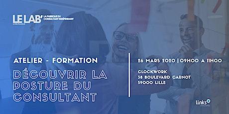 Atelier Formation #Lille | Découvrir la posture du consultant tickets