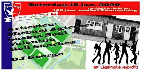 Jubileumfeest vv Zwanenburg tickets