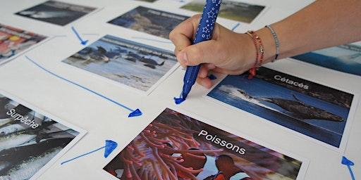 Atelier Fresque Océane animé par Alice Vitoux