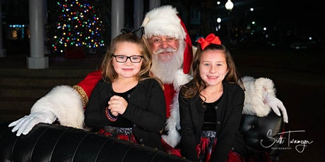 The Night Time Santa Sleigh Experience tickets