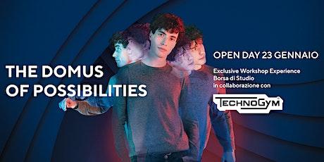 Domus Academy Open Day - WORKSHOP EXPERIENCE biglietti