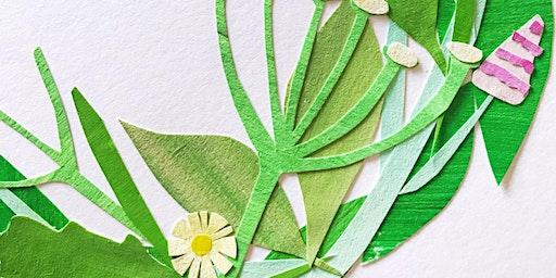 Collage Workshop: Floral Garland