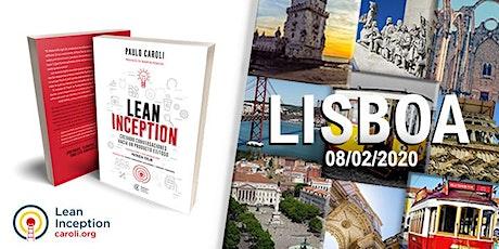 Formação Lean Inception em Lisboa bilhetes