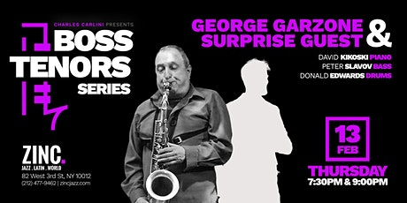 Boss Tenors Series: George Garzone & Surprise Guest tickets