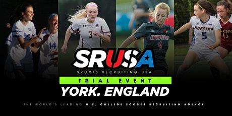 SRUSA Women's Soccer Northern Trial Event and ID Camp - York, England. tickets
