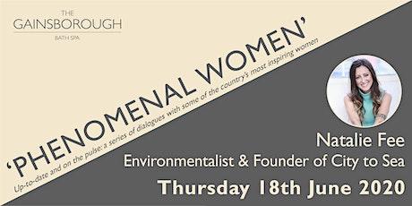 'Phenomenal Women' 2020: Natalie Fee tickets