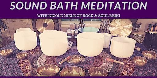 February Sound Bath Meditation at Crystal Reiki
