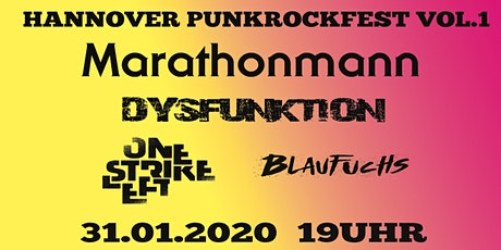 Hannover Punkrockfest Vol.1 Tickets