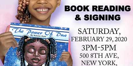 The Power of Dua Book Reading & Signing tickets