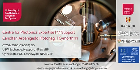 Centre for Photonics Expertise (CPE) Canolfan Arbenigedd Ffotoneg (CAFf) tickets