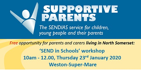 'SEND in Schools' workshop - Thursday 23rd January 2020 tickets