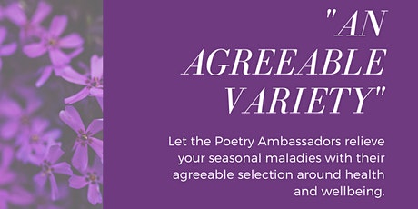 Afternoon Poems: 'An Agreeable Variety' tickets