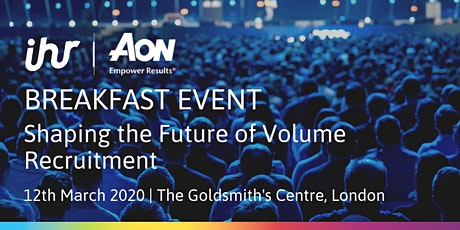 Shaping the Future of Volume Recruitment tickets