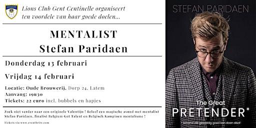 [LC Gent Centinelle] Mentalist Stefan Paridaen - Do 13 Feb + Vr 14 Feb 2020