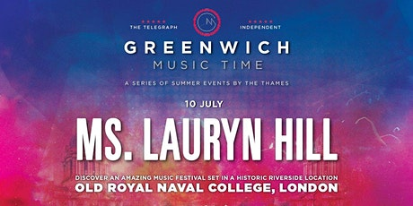 GREENWICH MUSIC TIME - Ms Lauryn Hill tickets