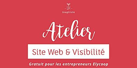 Atelier Site Web et Visibilité 31/01/20 billets