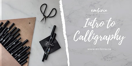 Embiria presents Intro to Calligraphy tickets