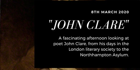 Afternoon Poems: John Clare tickets