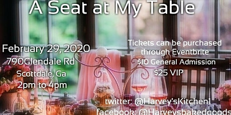 A Seat At My Table tickets