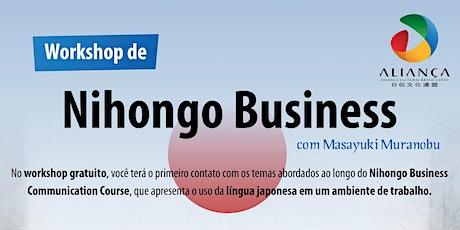 Workshop de Nihongo Business Communication Course ingressos