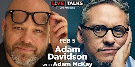 Adam Davidson in conversation with Adam McKay tickets