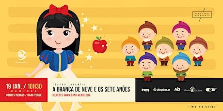 Teatro Infantil | A Branca de Neve e os Sete Anões | Bang Venue bilhetes
